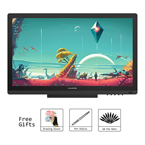 Huion KAMVAS GT-191 Digital Graphics Drawing Monitor 8192 Pen Pressure...