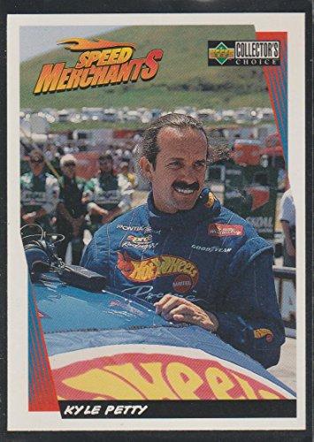 Nascar Collector Cards - 1997 Collector's Choice Kyle Petty Nascar Racing Card #26