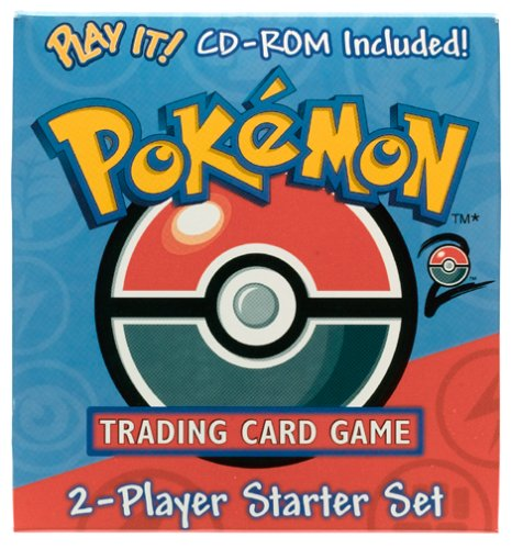 WOTC Pokemon Base Set 2 Two-Player Starter w/CD