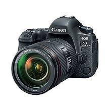 Canon Cameras US 1897C009 EOS 6D Mark II DSLR Camera with EF 24-105mm USM Lens, Wi-Fi Enabled, Black