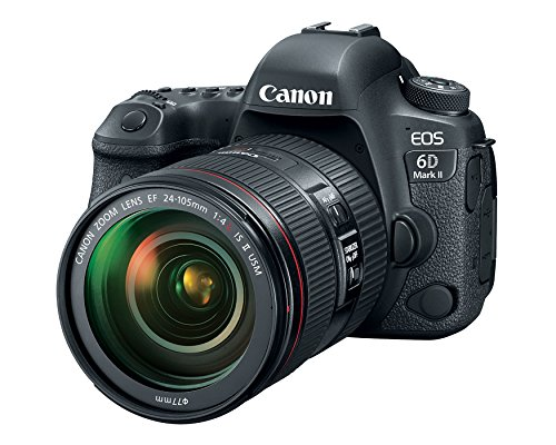 Canon EOS 6D Mark II DSLR Camera with EF 24-105mm USM Lens – WiFi Enabled