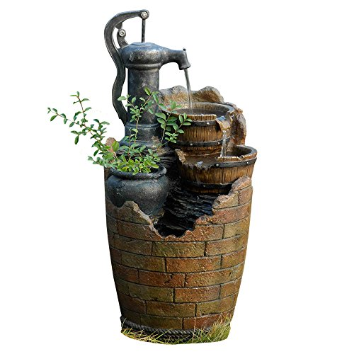 Glenville Water Pump Cascading Fountain product image