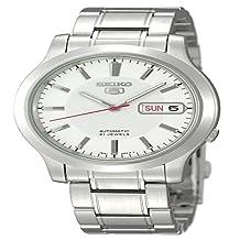 Seiko Unisex Adult SNK789 5 Automatic White Wrist Watches