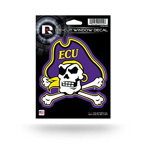 NCAA East Carolina Pirates Die Cut Vinyl Decal