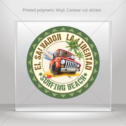 stickers-decal-la-libertad-el-salvador-souvenir-memorabilia-surfing-be-4-x-4-inches