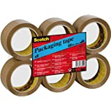Scotch Ruban Adhésif d'Emballage en Polypropylène 48 Microns 50 x 66 m Lot de 6