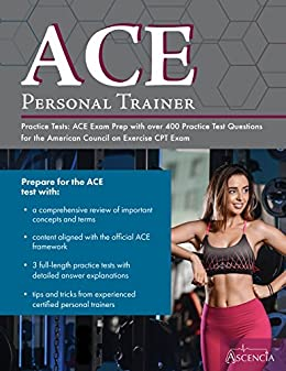 Amazon ace personal trainer practice tests ace exam prep with ace personal trainer practice tests ace exam prep with over 400 practice test questions for fandeluxe Gallery