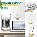 Condizionatore-Daria-Portatile-Hisome-Air-Cooler-Refrigeratore-daria-5-in-1-Umidificatore-Purificatore-Diffusore-di-Aromi-USB-con-4-Velocita-e-7-Colori-4-Timers-Adatto-per-lHome-Office
