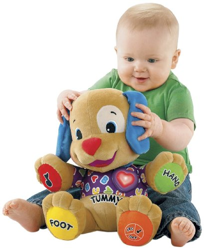 Fisher-Price Laugh & Learn Love to Play Puppy with Bonus CD by Fisher-Price