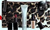 Laura Mercier Deluxe Travel Set - Audrey Lipstick, Radiance Primer, Bare Naked Lip Glace and Cosmetic Bag