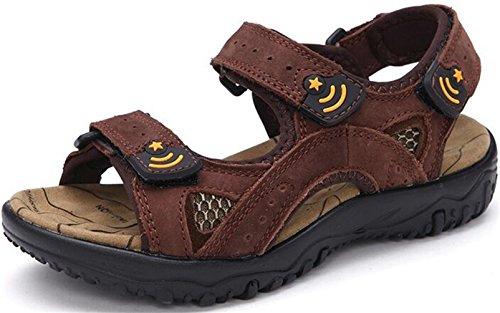 ppxid-boys-leather-open-toe-outdoor-casual-sandbeach-sandals-dark-brown-2-us-size