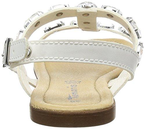 Tamaris Damen 28159 T-Spange Weiß (White 100)