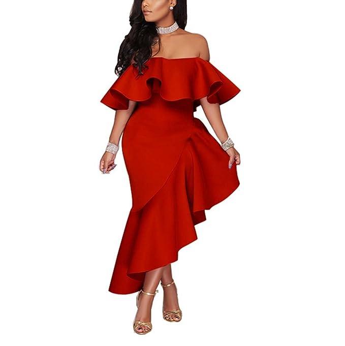 Vestido de mujer sexy Vestido de noche sin mangas elegante Vestido de banquete Vestido de dobladillo