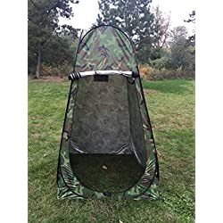 Taousa 70500 6.25ft Portable Pop Up Changing Room Dressing Tent with Carrying Bag for Camping Outdoor Party, Color Camouflage