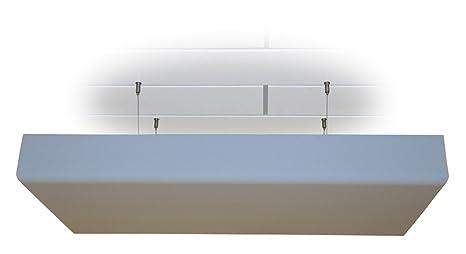 Panel de techo flotante de espuma aislante acústica con ...