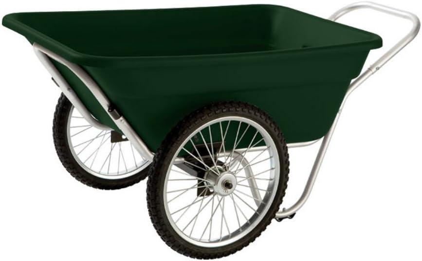 Smart Carts Garden Utility Cart with Spoke Wheels