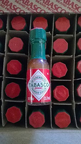 (Tabasco Brand Miniature Hot Sauce Bottles - Case of 144)