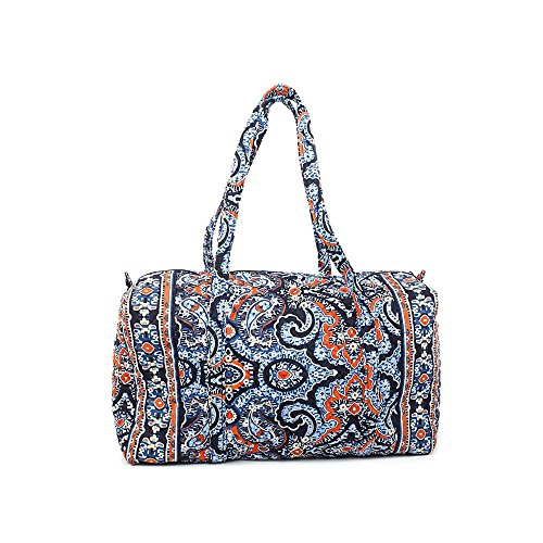 Vera Bradley Luggage Womens Large Duffel Marrakesh Duffel Bag
