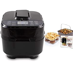 Nuwave Brio 10 Qt. Air Fryer with Gourmet Accessory Pack