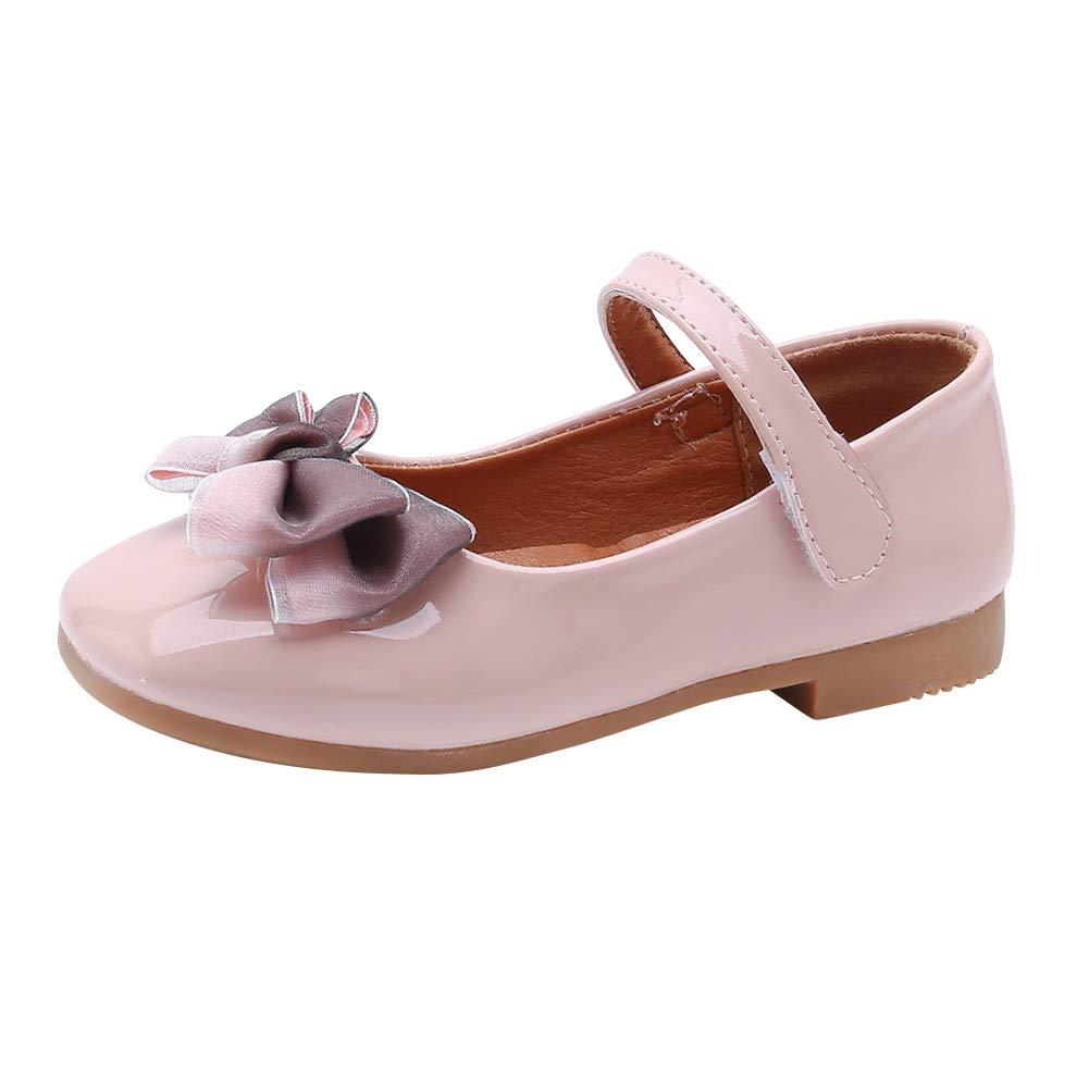 Ballerines Sandales Enfants B/éb/é Princesse Dance Doux Seul Confortables Noeud Chaussures /à Semelles Souples Gtagain Chaussures Fille Sandales