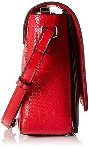 Mario Valentino Damen Clove Tornistertasche, 9.0x18.0x24.0 cm Rot (Rosso)