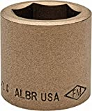 "1/2"" Drive, 1-1/16"" Nonsparking Standard Hand Socket pack of 2 -  Ampco"