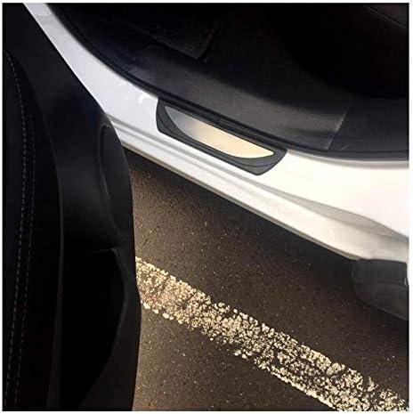 Embellecedores de umbral de puerta de acero inoxidable para Qashqai J11 SUV 4 unidades LFOTPP