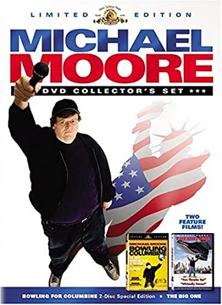 bowling for columbine by michael moore review Point for point, i agree with just about everything mordant muckraker michael moore has to say in his gun violence documentary bowling for columbine, but pardon me if i shoot the messenger (ooh, the horrible pun) for his propagandist approach.