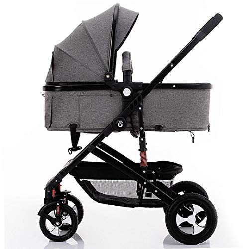 Pink day Baby Carriage Lightweight Folding Can Sit in A Pram Baby Wagon