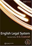 English Legal System 2007-2008, Douglas Cracknell, 0415451221