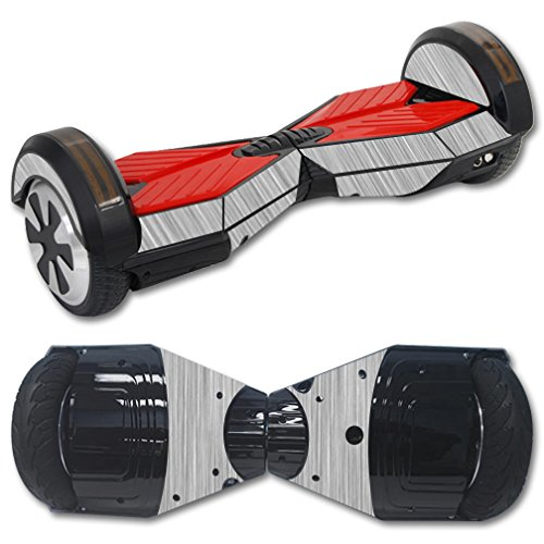 MightySkins Protective Vinyl Skin Decal for Self Balancing Board Scooter Hover 2 wheel mini board unicycle bluetooth wrap cover sticker Steel Mini Scooter Hover Board