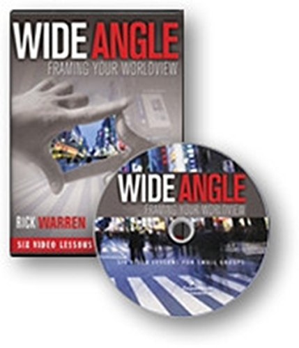 Wide Angle: Framing Your Worldview Dvd! Rick Warren, Charles Colson