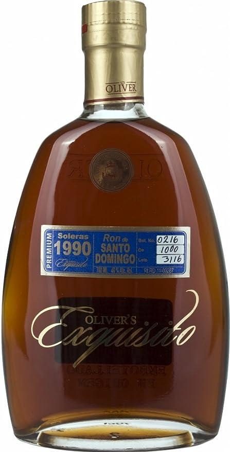 O & O exquisito 1990 Rum de la República dominikan, 700 ml