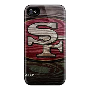 DaMMeke Snap On Hard Case Cover San Francisco 49ers Protector For Iphone 4/4s