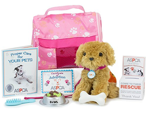 Doll Pet, Complete 11 Piece ASPCA Puppy Set | Perfect Dog for 18 Inch Dolls, ASPCA Adopt-A-Pet Dog (Pets For 18 Inch Dolls)