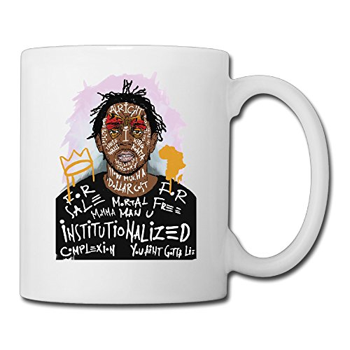 Kendrick Lamar Duckworth Coffee Mug Water Cup Drinking Cup Beer Mug Milk Cup Tea Cup Restaurant Cups Ceramic Mug Morning Cup White