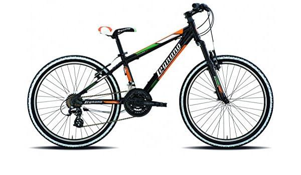 Legnano 24 Pulgadas Cyclone Joven Mountain Bike Aluminio 21 ...