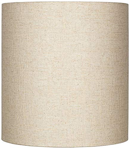 Amazon.com: Oatmeal Tall Lino Sombra De Carga 14 x 14 x 15 ...
