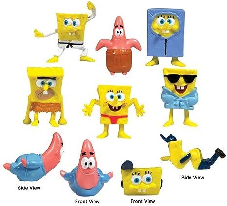 New 25 Pc Spongebob Squarepants Mini Small Figures Assortment Characters