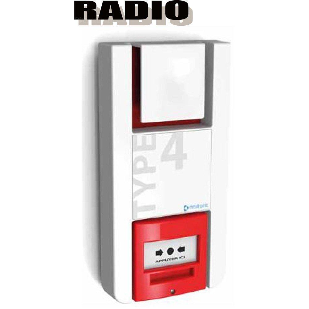 Alarma tipo 4 radio autónoma de muy largo alcance 400 Metros ...