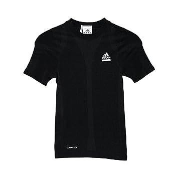 adidas Techfit Seamless T Shirt Klein: : Sport