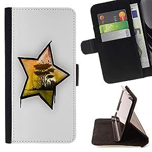 - Africa Star/ Personalizada del estilo del dise???¡¯???¡Ào de la PU Caso de encargo del cuero del tir???¡¯????n del s - Cao - For Samsung Galaxy S6