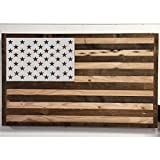 "American Flag 50 Star Stencil Template 10.5"" x 15"" Reusable for Painting on Wood, Fabric, Wall, Airbrush"