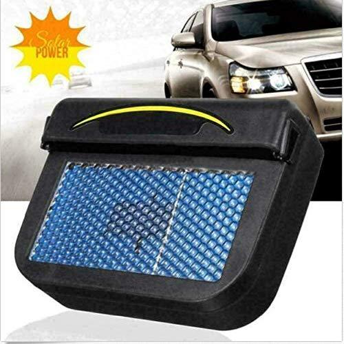 Pestelley Solar Powered Car Air Vent Cool Fan Auto Cooler Ventilation System Exhaust Fan