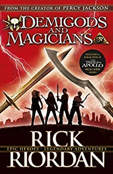 Demigods & Magicians: Percy and Annabeth Meet the Kanes 1484732782 Book Cover