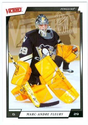 (Marc-Andre Fleury hockey card 2006 Upper Deck Victory #159 (Pittsburgh Penguins))