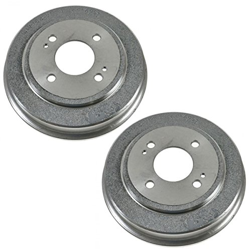 Rear Wagner ThermoQuiet MX1122 Semi-Metallic Disc Pad Set With Installation Hardware