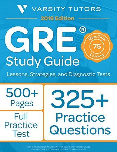 GRE Prep Study Guide: Lessons, Strategies, and Diagnostic ()