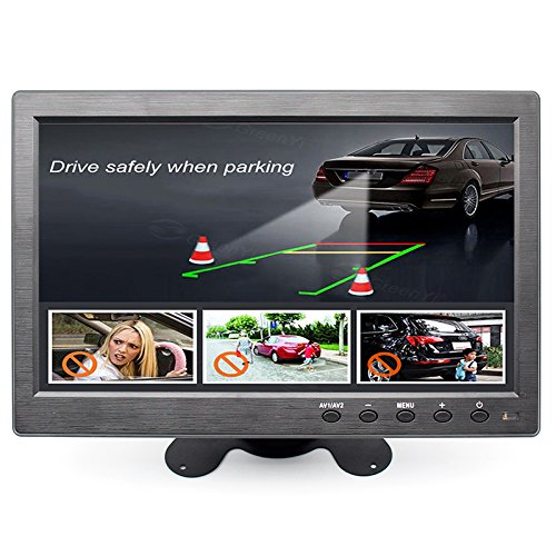 Monitor Anti-Glare 10 Inch IPS EDP HD 1080P VGA HDMI BNC USB Video Monitor for Microscope DVD PC CCTV Lab Desktop Display