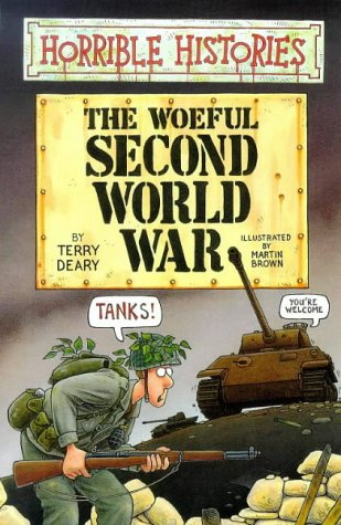 book cover of The Woeful Second World War
